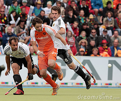 Men s Finals .Hockey European Cup Germany 2011 Editorial Image