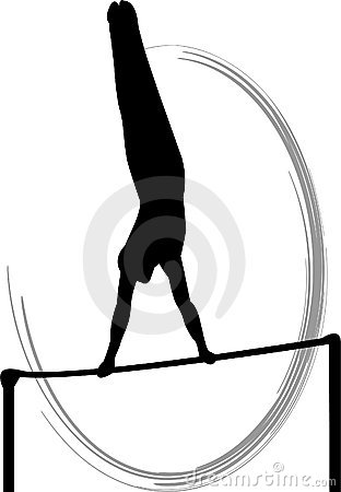 Free Men S Gymnastics Horizontal Bar Royalty Free Stock Photos - 3917758