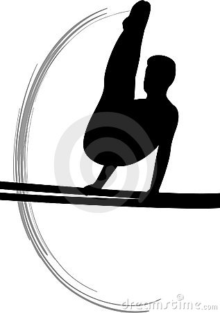 Free Men S Gymnastics Parallel Bars Royalty Free Stock Photography - 3917787