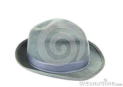 Men's hat isolated