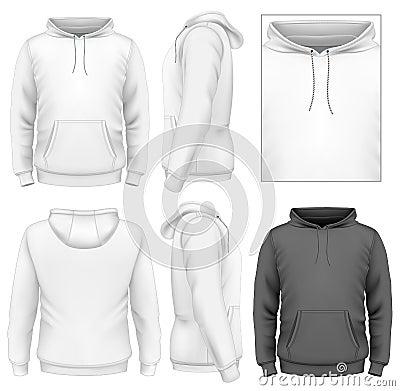 Free Men S Hoodie Design Template Royalty Free Stock Image - 33520316