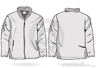 Black Jacket Template - Pl Jackets
