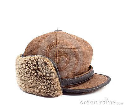 Men s leather cap