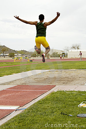 Free Men S Long Jump Royalty Free Stock Images - 647919