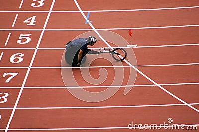 Men s marathon in Beijing Paralympic Games Editorial Photo