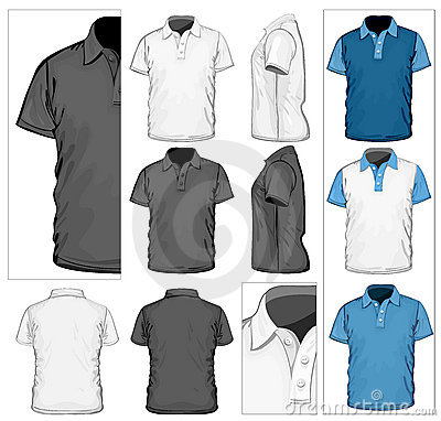 Free Men S Polo-shirt Design Template Stock Photo - 21564120