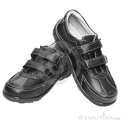 Men s shoes are made of artificial leather