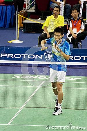 Free Men S Singles Badminton - Lee Chong Wei Stock Photo - 7680940