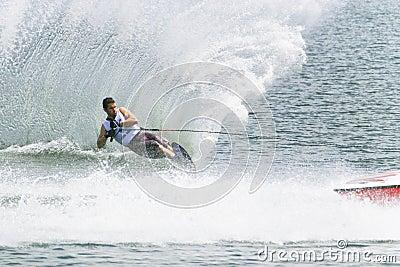 Men's Slalom Action - Jean Baptiste Faisy Editorial Image