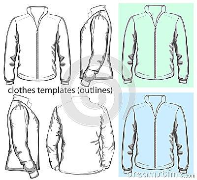 Men s sweatshirt with zipper