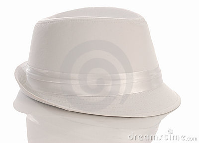 Men s white dress hat