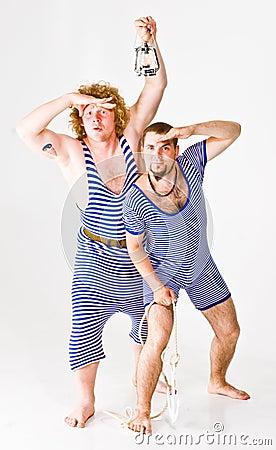 Men in Sailor Costumes