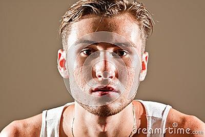 Men skin problems