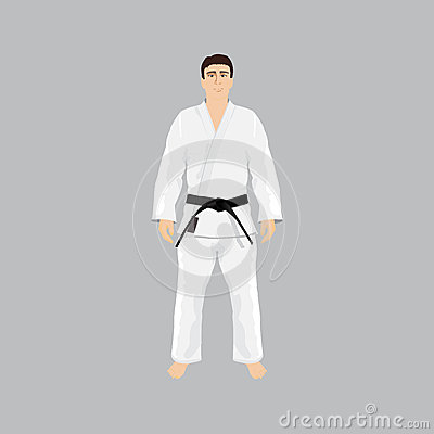 how to wear a martial arts belt