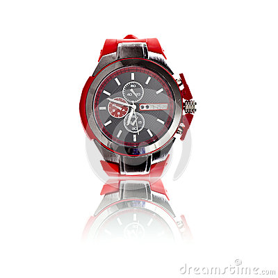 Men sport wrist watch