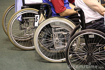 Men in wheelchair