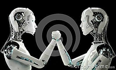 Men and women robot