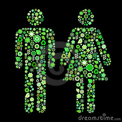 Men and women shape