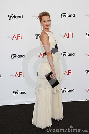 Mena Suvari at the AFI Life Achievement Award Honoring Shirley MacLaine, Sony Pictures Studios, Culver City, CA 06-07-12 Editorial Image