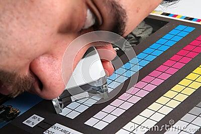 Menagement van de de productiekleur van af:drukken