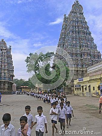 Menakshi Temple Madurai Editorial Photography