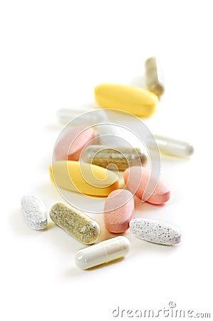 Mengeling van vitaminen