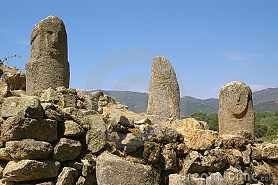 Menhirs of ancient civilization