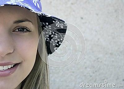 Menina adolescente