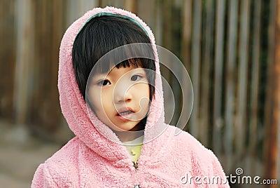 Menina chinesa