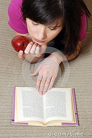 Menina da leitura