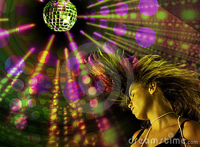 Menina do disco