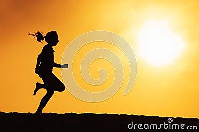 Menina Running