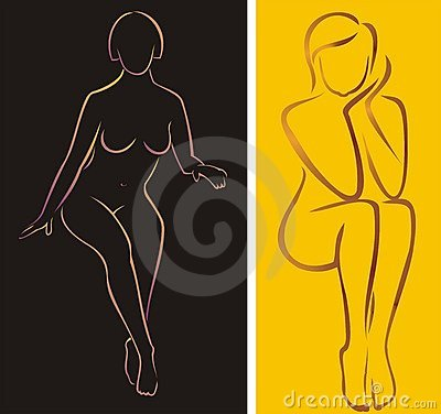 Meninas despidas de assento