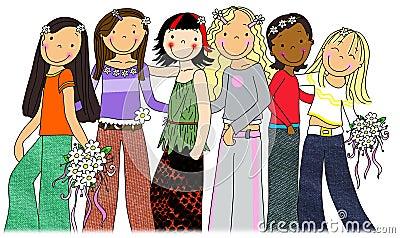 Meninas do estrela pop