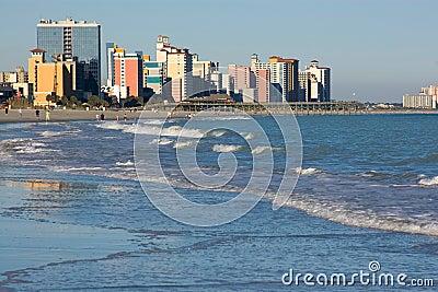 Mening over het Strand van de Mirte, Sc