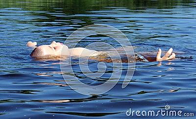 Menino da natação