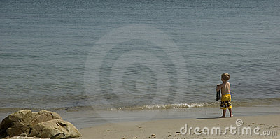 Menino da praia