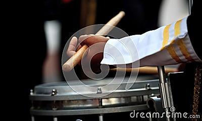 Menino do baterista