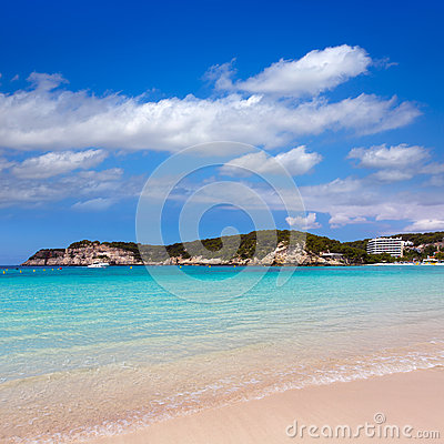 Free Menorca Cala Galdana Beach In Ciutadella At Balearic Stock Photos - 35147393