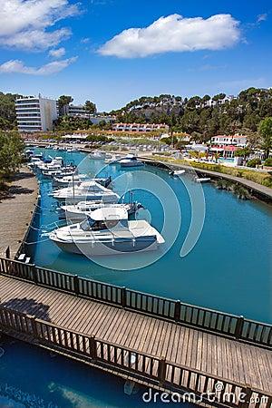 Free Menorca Cala Galdana Channel In Ciutadella At Balearic Stock Image - 35147741