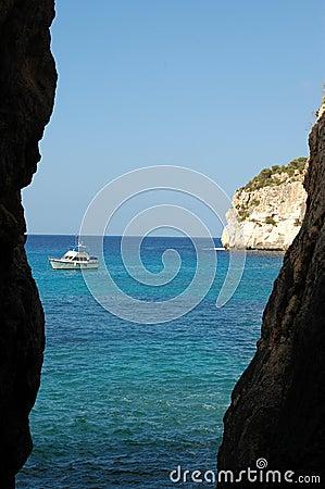 Free Menorca Cala Galdana Spain Royalty Free Stock Images - 1297349