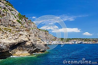 Menorca south coast
