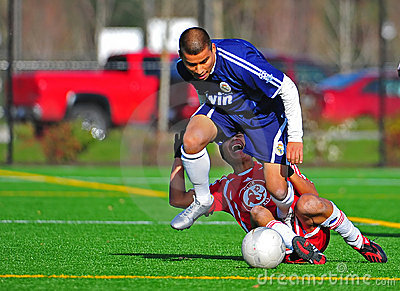 Mens club Soccer Injuries Editorial Image