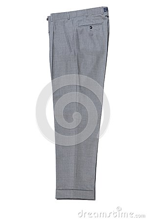 Mens  grey classical trousers.