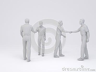 Mens handshake