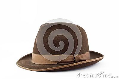 Mens suede hat