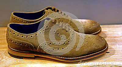 Suede shoes for men