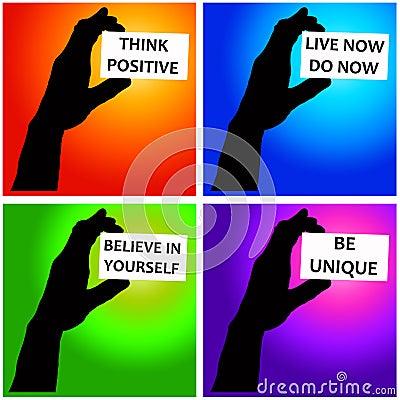 Mensagens positivas