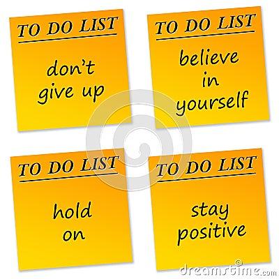 Mensajes positivos