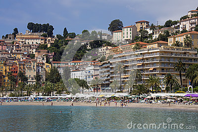 Menton - Cote dAzur - South of France Editorial Image